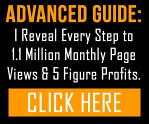 Sidebar Banner Ad to Paid Guide Sales Page