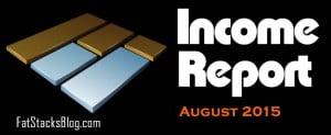 Income Report August 2015: $34,654 (2 Niche Sites)