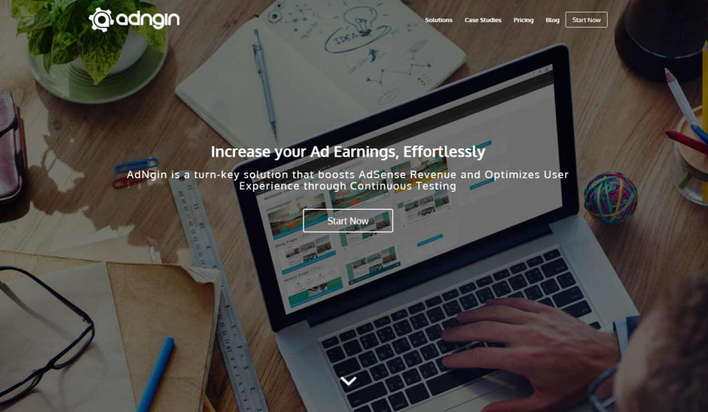 Adngin Ad Testing Software and Service