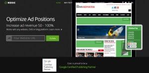 Ezoic Ad Testing Platform