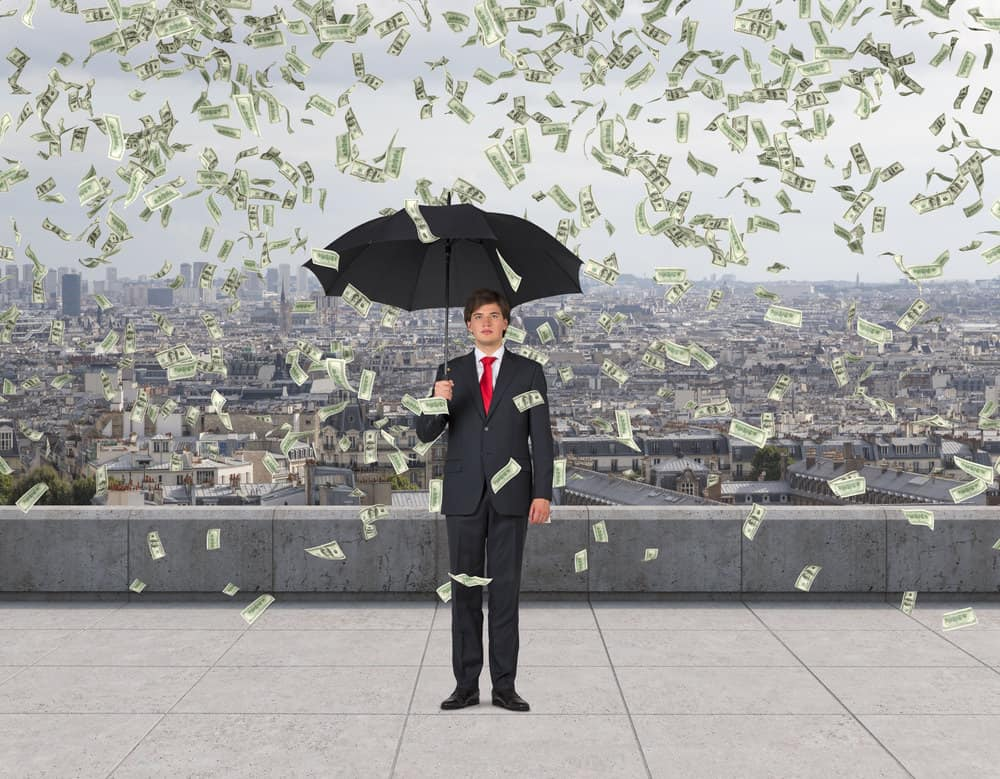 Raining money after selling a website