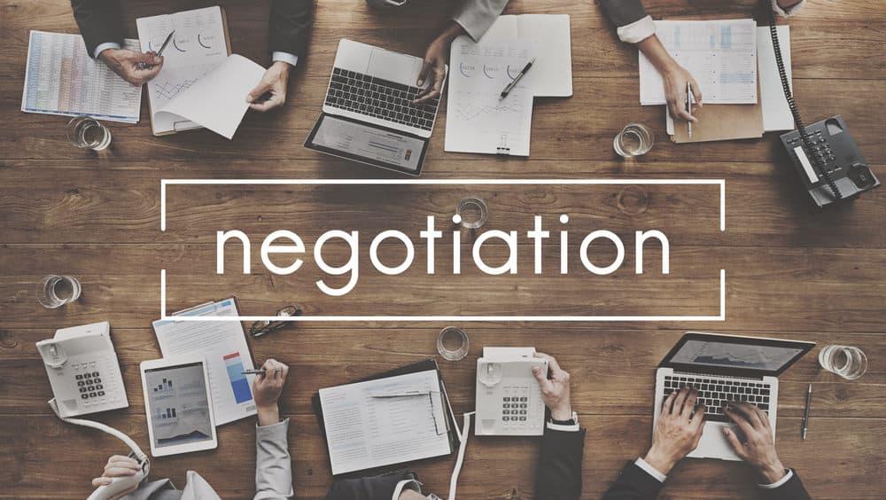 Negotiating a website sale