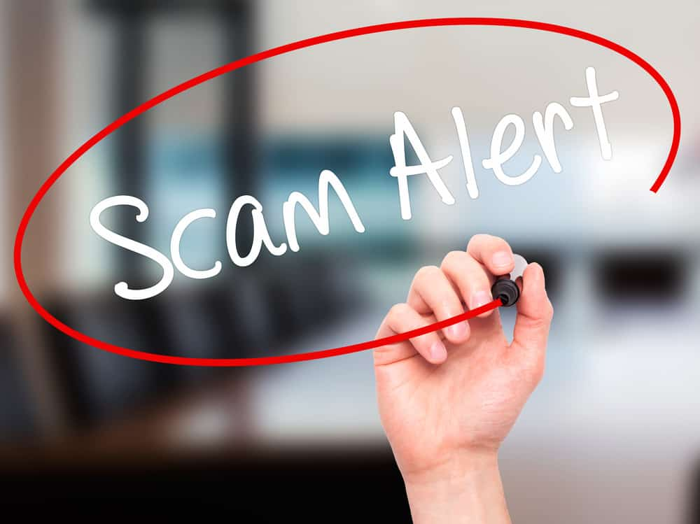 Preventing getting scammed when selling a website