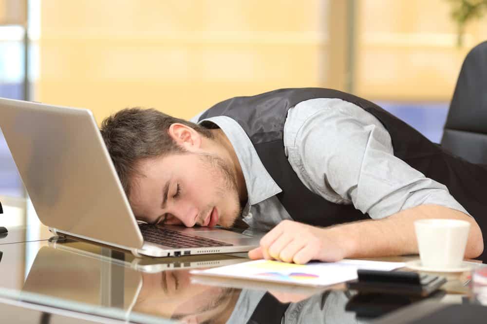 Sleeping Social Media Manager