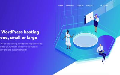 Kinsta hosting website