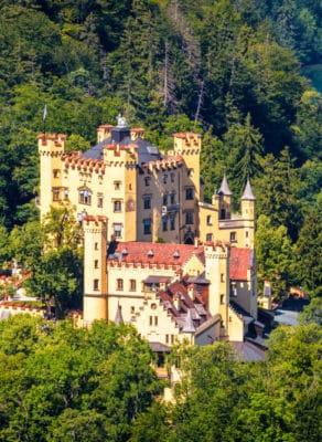 Hohenschwangau Castle near Fussen, Bavaria, Germany