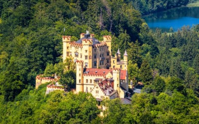 Hohenschwangau Castle near Fussen, Bavaria, Germany