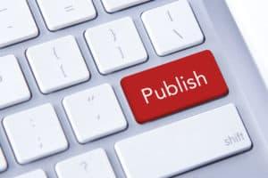 Publish content on blogs
