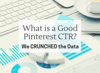 What is a good Pinterest CTR