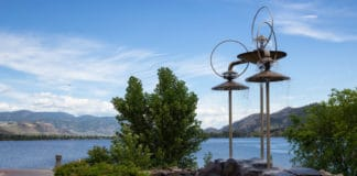 Photo of Osoyoos Lake in British Columbia