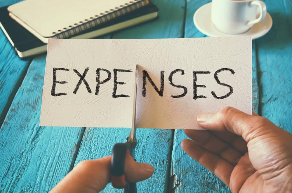 Cut expenses graphic