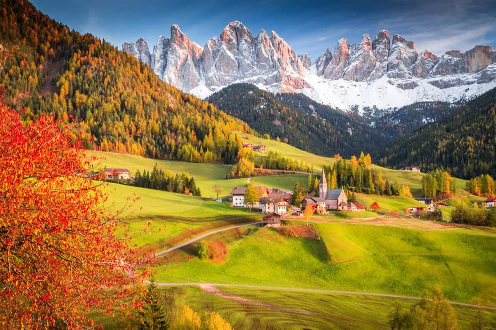 Italian Dolomites, South Tyrol, Italy