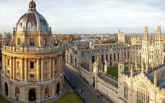 Radcliffe Camera and All Souls College, Oxford University in Oxford, UK