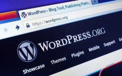 Wordpress.org logo and website image