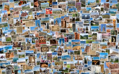 Collage of hundreds of images