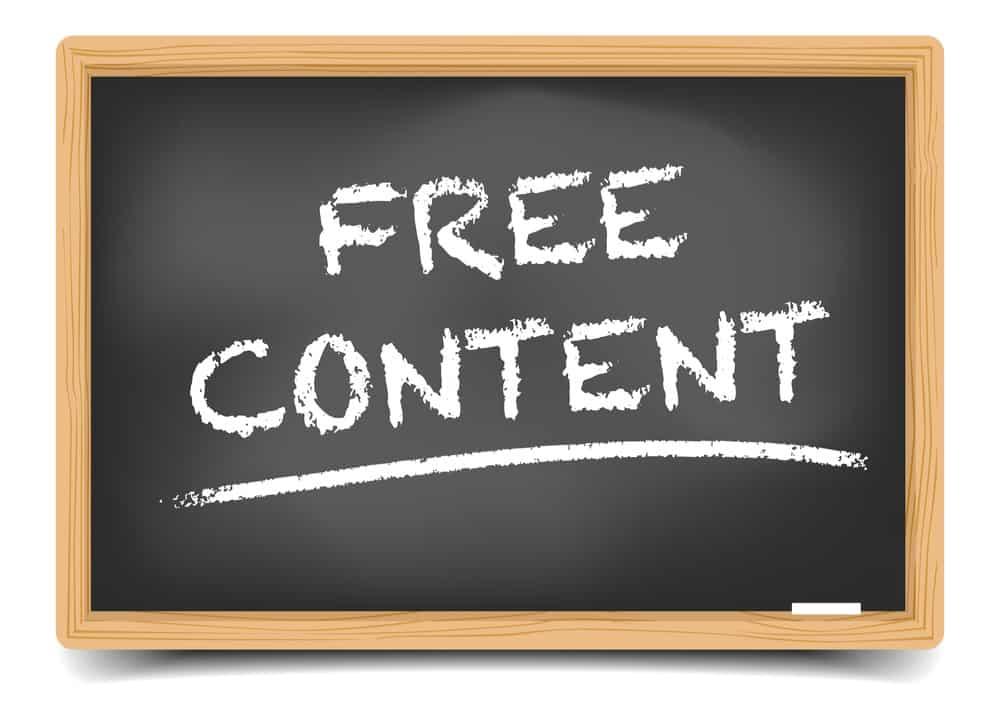 Free content graphic
