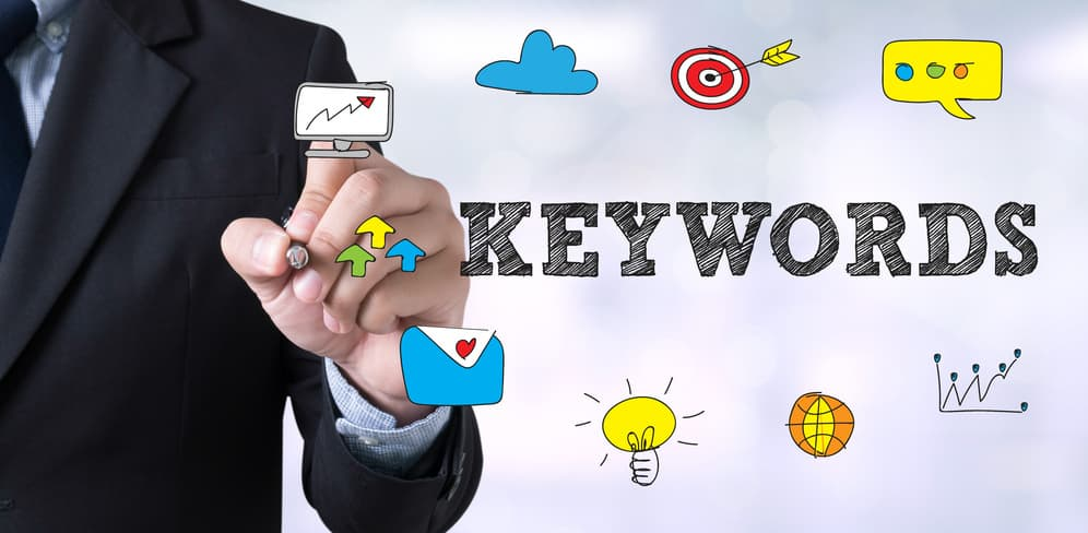 Keyword research graphic
