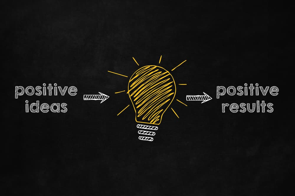 Positive ideas equal positive results