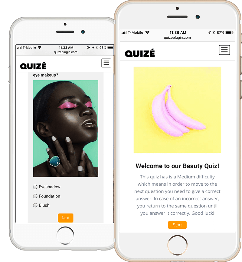Quizé iPhones