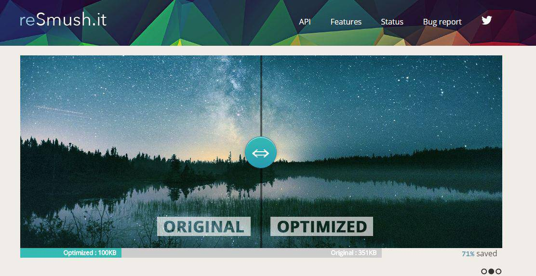 reSmush.it image optimization plugin