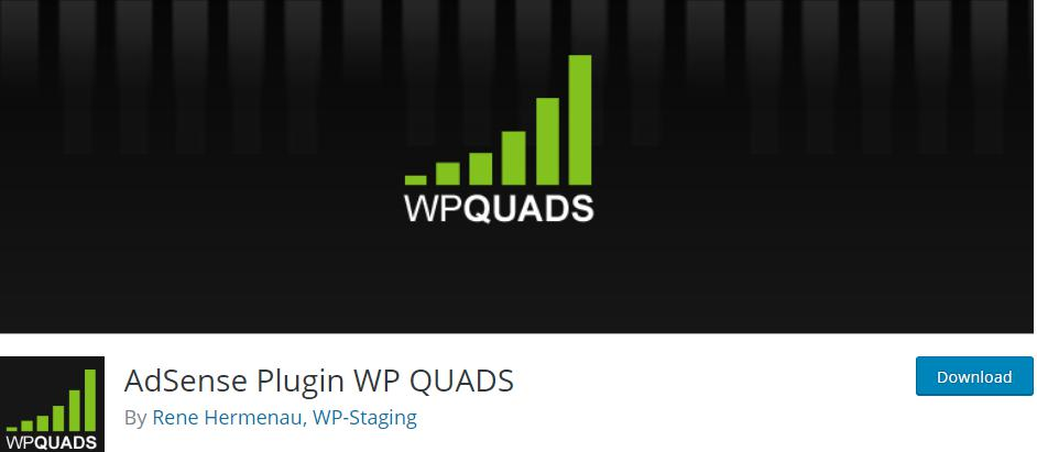 AdSense Plugin WP QUADS plugin