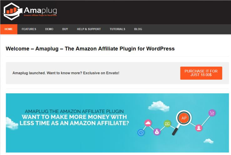 Amaplug Amazon Affiliate