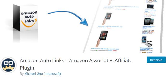 Amazon Auto Links Amazon Associates