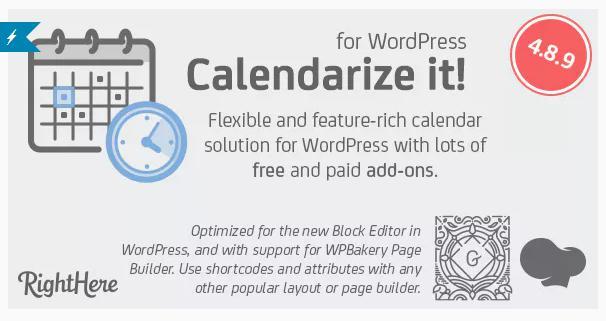 Calendarize it! plugin