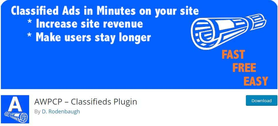 Classifieds Plugin Free for Ad Management