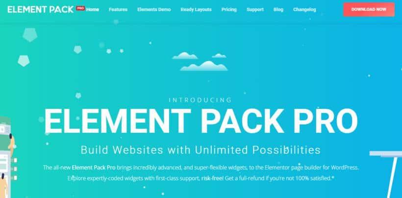 Element Pack (for Elementor) f