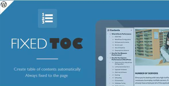 Fixed TOC plugin