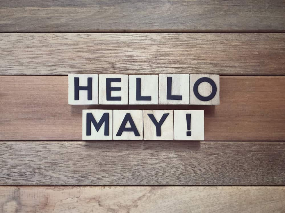 Hello May sign