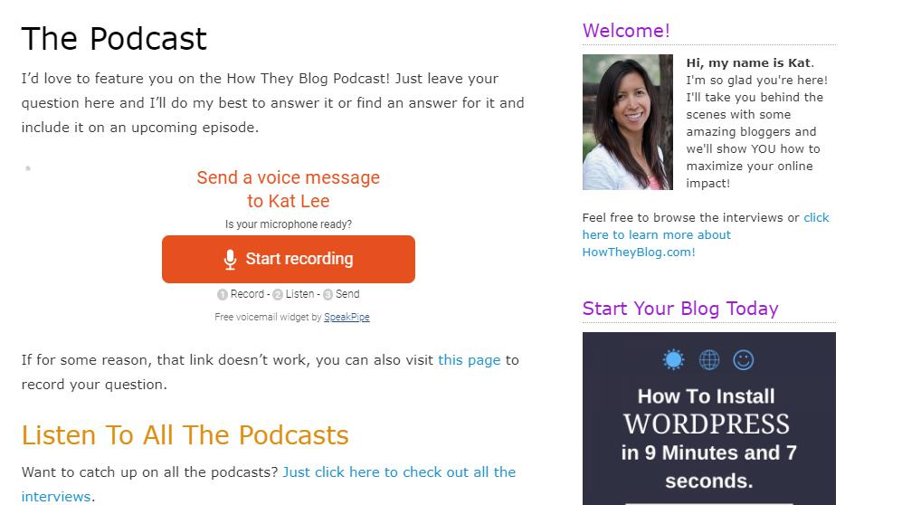 How They Blog Podcast