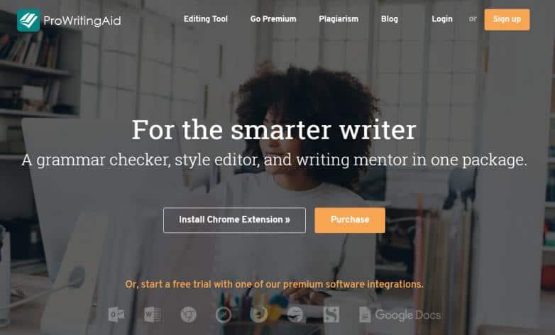 ProWritingAid application