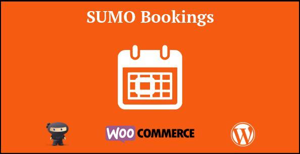 SUMO WooCommerce Bookings plugin
