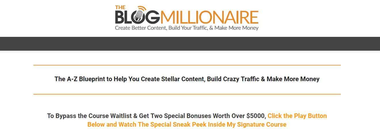 The Blog Millionaire