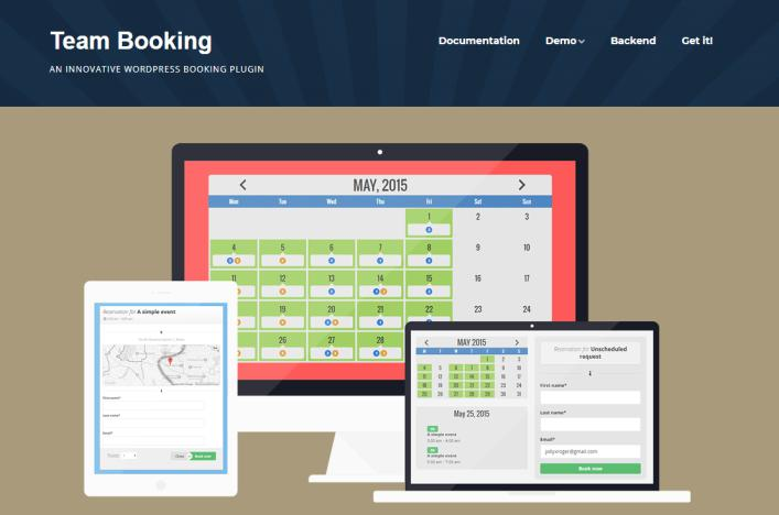 Team Booking: WordPress Booking System plugin