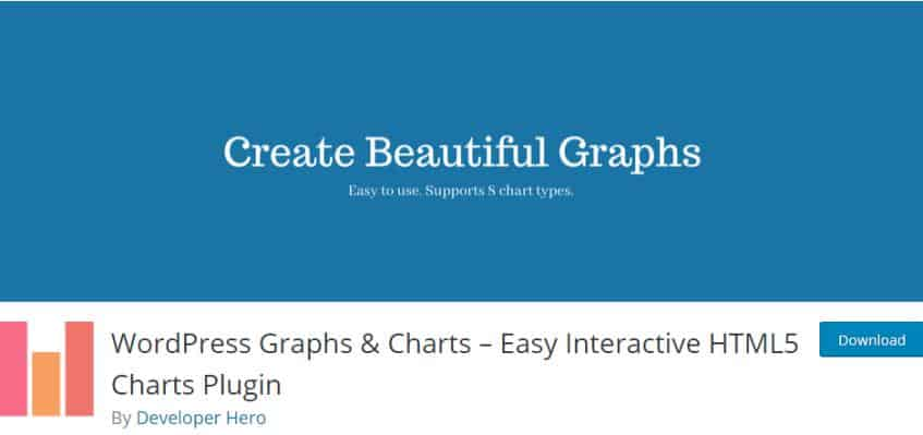 WordPress Graphs & Charts plugin