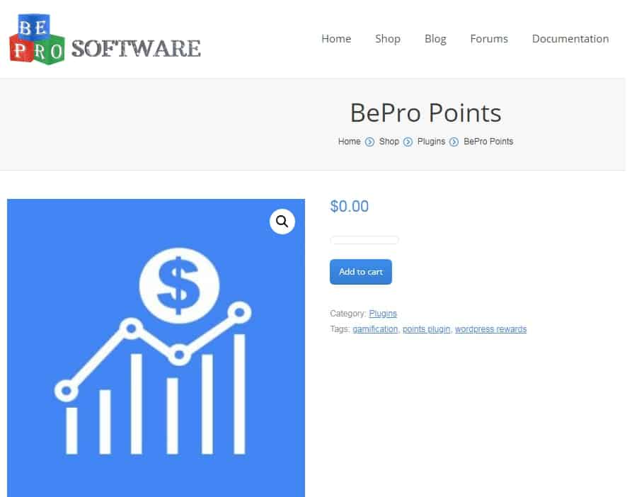 BePro Points plugin for gamification