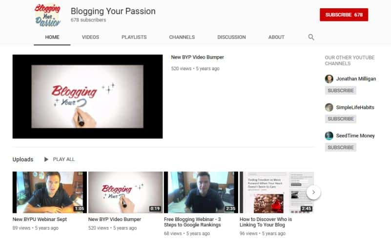 Blog Your Passion for how to blog