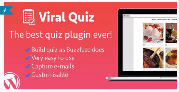 WordPress Viral Quiz for WordPress Quizzes