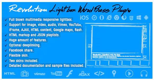 Revolution LightBox plugin