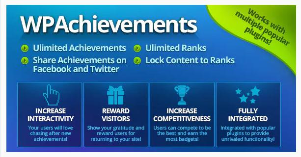 WPAchievements Free plugin for gamification