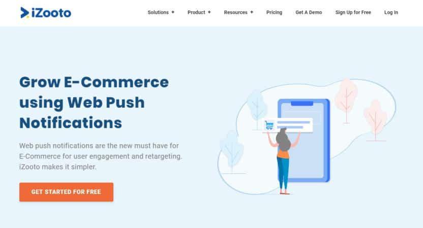 Web Push Notification by iZooto for WordPress