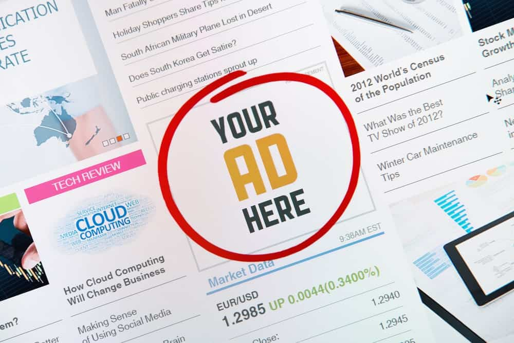 Online ad context