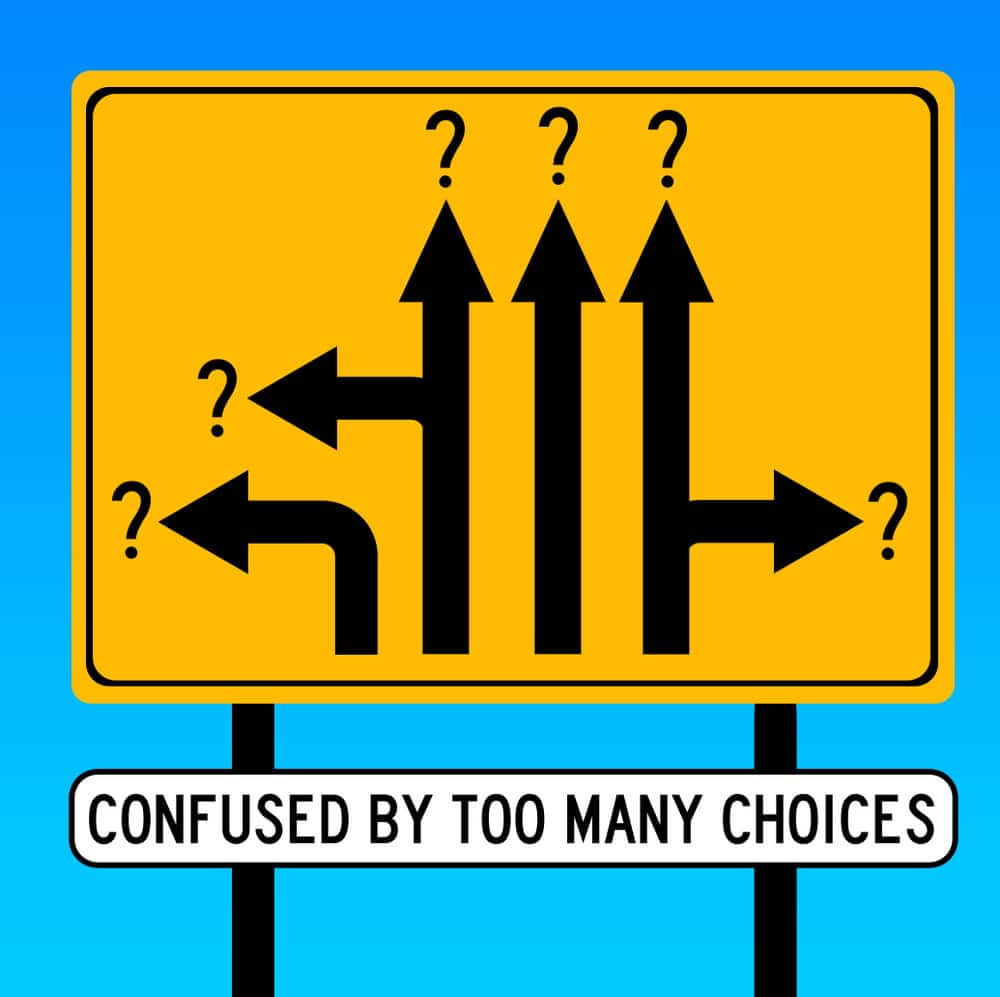 too many choices graphic aug27