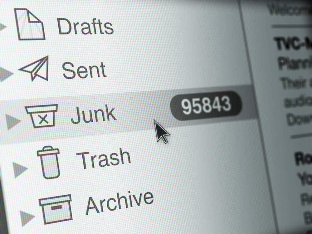 Junk folder in email