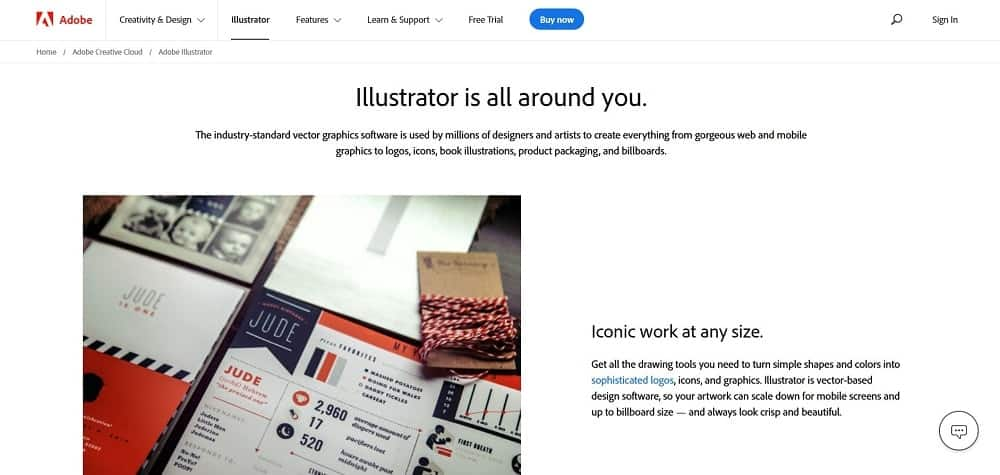 A screenshot of the Adobe Illustrator pin designer software tool.