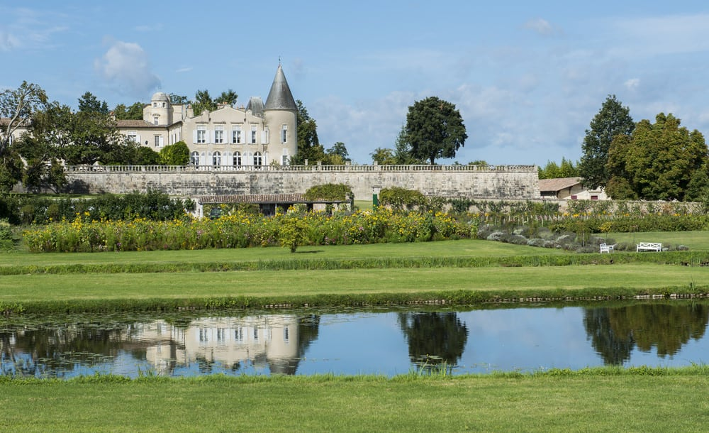 Chateau Lafite-Rothschild in Medoc, France