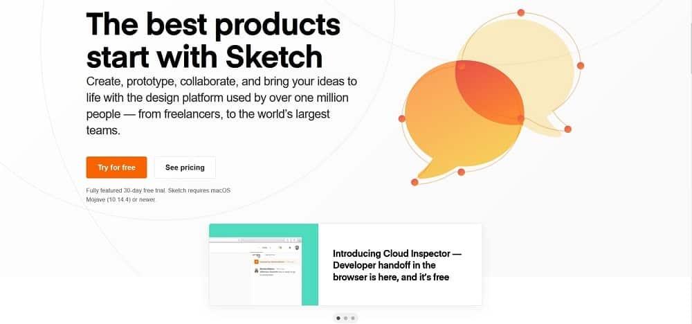 A screenshot of the Sketch pin designer software tool.